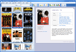 Best Movie Organizer - Thumbnails view